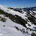Die Skihänge am Schönberg, gesehen vom Kapuziner