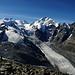 Gipfelpanorama Bernina