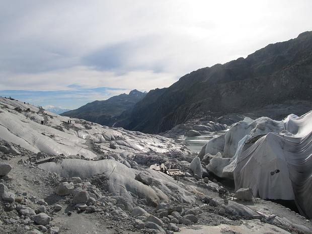 Bei der Gletschergrotte