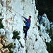 Klettersteigpassage auf dem Weg nach Sormiou