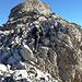 Einfache Kletterei