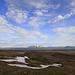 En montant, belle vue à droite sur le Langjökull