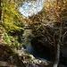 Ponte sul Rio Val Gabbio, dove il sentiero si immette sul percorso principale che dalla Colma porta In La PIana
