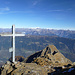 Ausblick vom ersten Gipfel (Pizzo di Mezzodi)