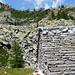 Corte di Cima, Alpe di Nassa, 2021m - Blick zum Übergang ins Val Solögna