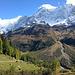 Alpweiden am Ausgang des Uisters Tal oberhalb der Fafleralp