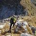 Abstieg in die Senke vor dem letzten Aufstieg zum Spilauer Grätli