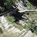 Steiler Abstieg nach Archeggio