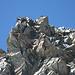 Gipfelkletterei am Strahlhorn - Suche die Wanderer