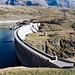 Barrage sur le lac de Montespluga