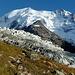 Nomen est Omen: Aiguille de Bionnassay mit Glacier de Bionnassay beim Abstieg nach...?  Genau, Bionnassay.
