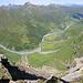 Aussicht ins Safiental vom Bodenhorn