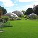 Die Treibhäuser des Botanischen Gartens.