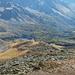 Vom Piz Cunfin: Val da Camp mit dem Lagh da Val Viola und dem Lagh da Saoseo.