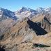 Il Lago Inferiore dei Pianei sovrastato dal Monte della Preja e dai quattro giganti