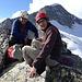 Danny und Hakon auf dem Gipfel