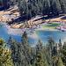 Wonderful colors: the small lake near Tioga Pass