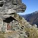 Die unerwartete Hütte auf ca. 2200 m
