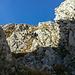 Schönes Klettern, in nicht immer ganz festem Fels