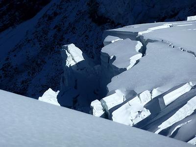 Detail Glacier de Taconnaz