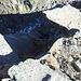 Fabio nel cono d'ombra del versante nord