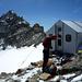 Geschafft – Ankunft beim wunderschön gelegenen Schalijochbiwak