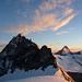 Letztes Licht eines unvergesslichen Tages über dem Schalihorn