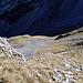 Blick zum Wanderweg: Die Rossegg im Schatten