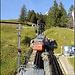 Start bei der Station Ämsigen - wir wählten die linke Gleisvariante (Wanderweg)