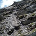 Im Abstieg unmittelbar unter dem Gipfel