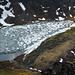 Eisbedeckte Bergseen
