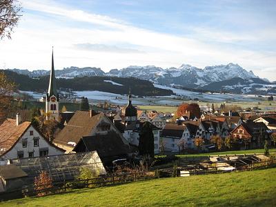 Startpunkt Gais im Appenzellerland