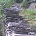 ... die Treppen  steigen an ...
