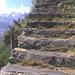 Die Treppen entfliehen dem Tal und ...