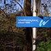 Hinweis am Schleißheimer Kanal
