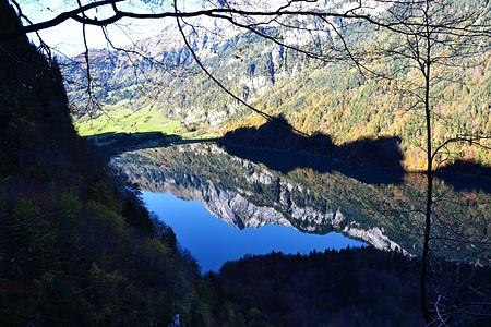 Auch wenn es schon wieder der See ist, von hier sah es nochmal toll aus.