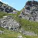 Übergang von der Alpe di Cranzünell nach Alpe di Cranzünasc