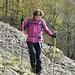 Sul sentiero doppia X gialla per Minceto e Monte Reale ...