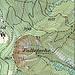 Karte. Zum unteren Einstieg in die Direttissima Mitte-Nord kommt man von Leimbach her: entweder auf dem gut auffindbaren, aber häufig ziemlich nassen Weg dem Rütschlibach entlang (Bachpfad) oder auf dem deutlich schwieriger zu findenden, aber interessanten Trampelpfad auf dem südlichen Tobelrand (Kretenpfad).