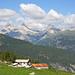 Alp Sut Fuina, im Hintergrund die Splüger Kalkberge