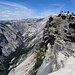 The view from the diving board up Tenaya Canyon and down the famous NW-Face