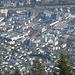 Innsbruck im ZOOM; schön, wenn man nach unten schauen kann und nicht unten sitzt