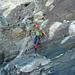 Und hoppla – die letzten Meter des Weges zu Pt. 3145 sind nachmittags ein Bergbach und flugs zu bewältigen