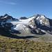 Sesvenna (3204 m) von der Sesvennascharte (2819 m) aus