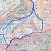 Routenverlauf (erst ab Oberstafel)<br /><br />Quelle: Swiss Map online