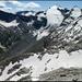 Auf dem Gipfel, Panorama mit Rheinwaldhorn.
