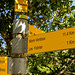 Der Parkplatz bei Les Colombets ist der ideale Ausgangspunkt für die Tour. Wenn man hier startet, kann man sich die etwa 4 Km entlang der Straße sparen