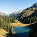 Romantischer Alpler See