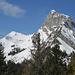 Links der unscheinbare Gipfel La Videmanette, daneben Le Rubli (Ostseite)