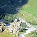 Tiefblick ins Sapün, zur sehr empfehlenswerter Adresse des Alpenrösli